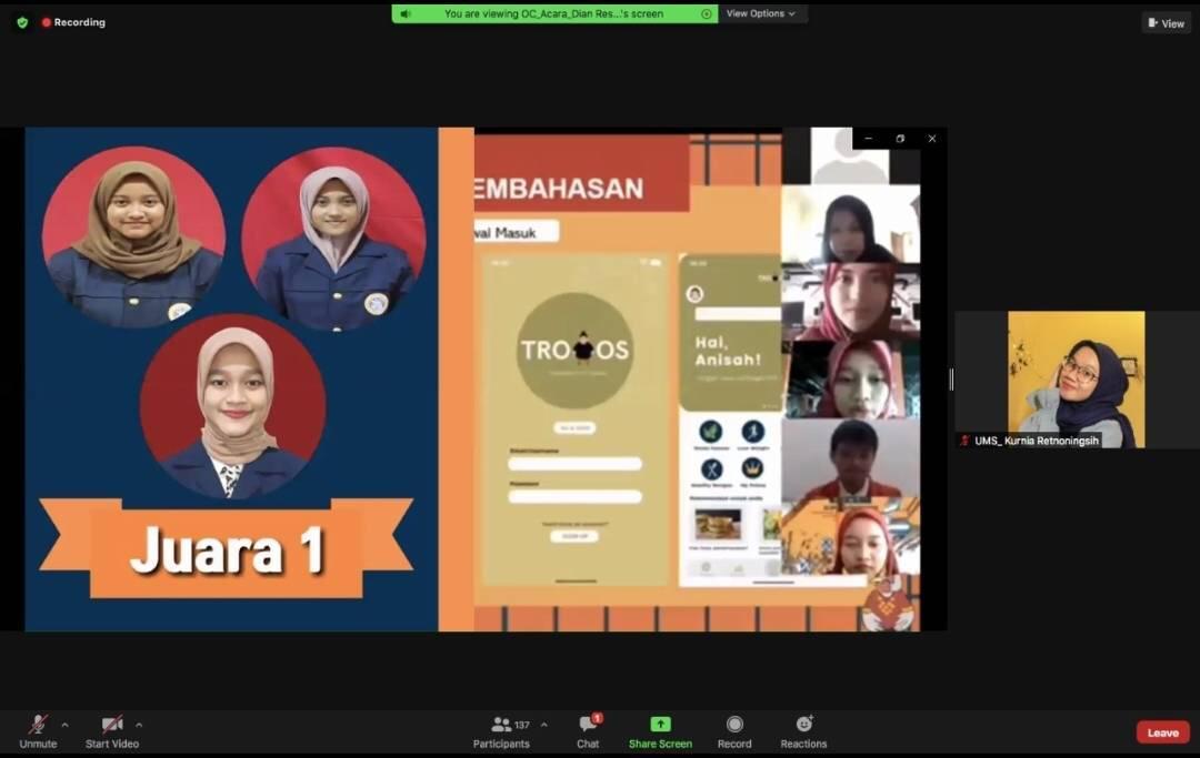 Trobos Treatment For Obesity Inovasi Aplikasi Berbasis Android Karya Ksatria Gizi Airlangga S1 Gizi Fakultas Kesehatan Masyarakat